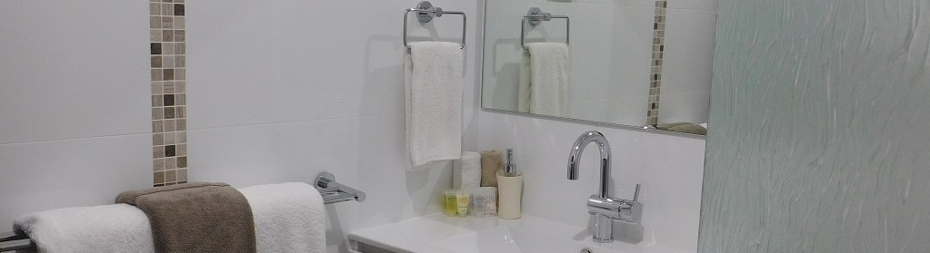 Stylish ensuite bathrooms in Margaret River at Edge Of The Forest Accommodation