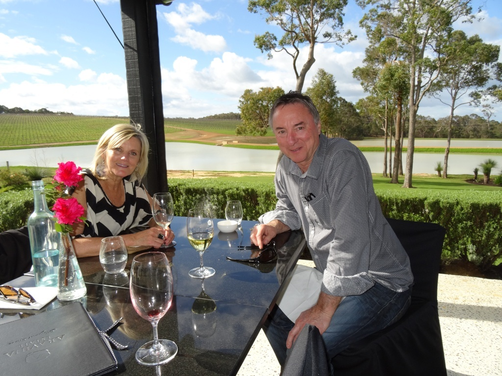 Amazing food and wine and spectacular views at many Wineries in Margaret River